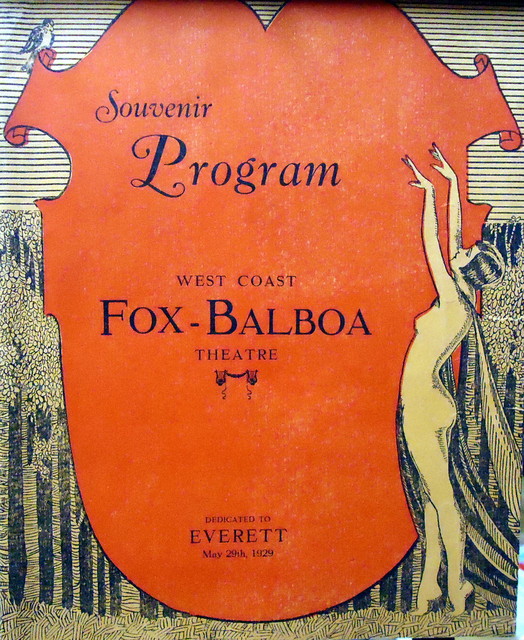Fox Balboa Theatre opening program