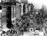 Early 1950s parade photo courtesy of the C'ville Images Facebook page.