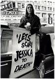 "Promotion for ""Let's Scare Jessica To Death"" which ran at the Chicago Theatre 10/01/71-10/21/71."