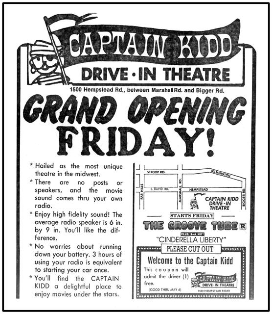 Captain Kidd Drive-In