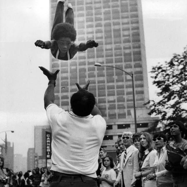 1974 photo credit Mark Perlstein, Vintage Chicago Tribune.