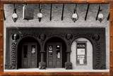 Garrick facade at the first Second City location at 1842 N. Wells, courtesy of Steve Winike.