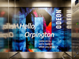 Odeon Orpington – Walnuts Shopping Centre Multi-Storey Car Park – Lift – Odeon Branding.