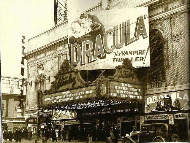 1931 photo courtesy of Sid Terror's Haunted Film Vault Facebook page.