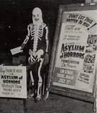 July 1946 promotion photo courtesy of Sid Terror's Haunted Film Vault Facebook page.