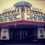 Plaza Theatre during Adult Films days