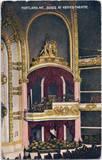 1910 post card of box seats.