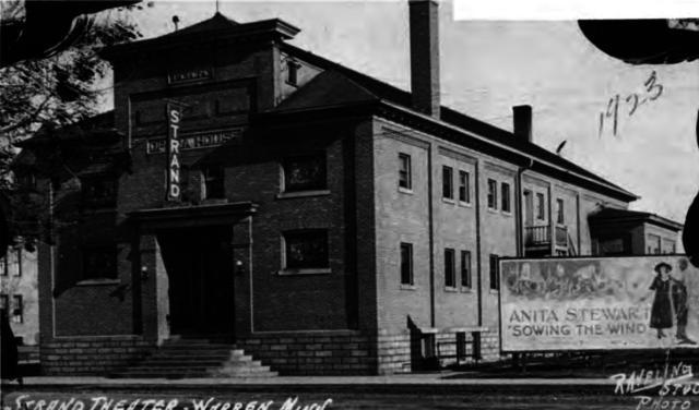 Strand Theatre, Warren, Minnesota, 1923