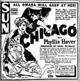 1927 print ad as the Sun.