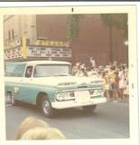 1968 Seaway Festival Parade photo credit Sheri Dafoe.