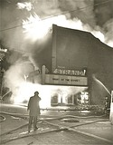 October 15, 1972 fire image courtesy of Betty Steele.