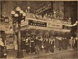 """""""Strand Theatre, Minneapolis, managed by Reuben and Finkelstein. Now showing Bluebirds."""" ~ from The Moving Picture Weekly, 1917"""