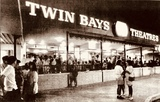 RealTampa Picture of Twin Bay Theaters in 1986