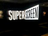 Cineworld Hemel Hempstead – Backlit Superscreen sign.