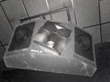 Cineworld Hemel Hempstead – IMAX Auditorium – Suspended IMAX Rear Speaker (Front view).