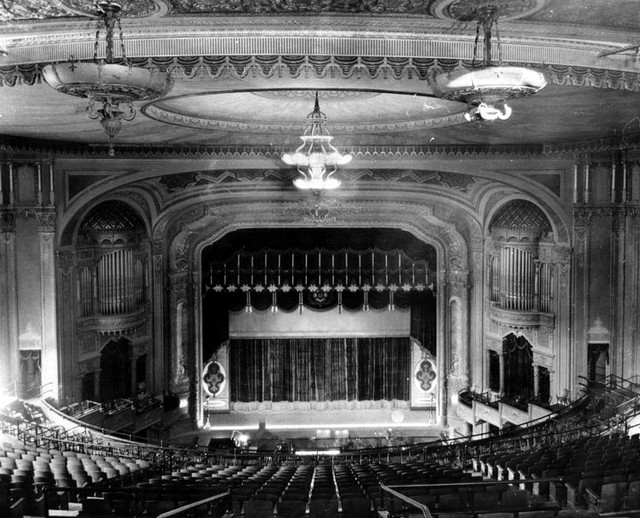 RKO Hillstreet Theatre auditorium