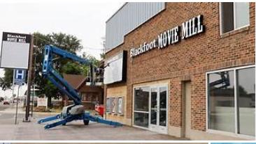 Blackfoot Movie Mill