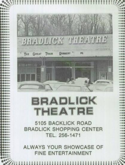 Ad for the Bradlick Theatre from the 1979 AHS yearbook.