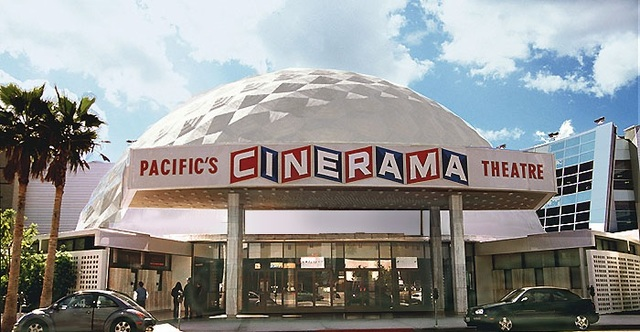 Cinerama Dome and ArcLight Hollywood in Los Angeles, CA - Cinema