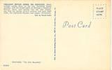 1961 Postcard back.