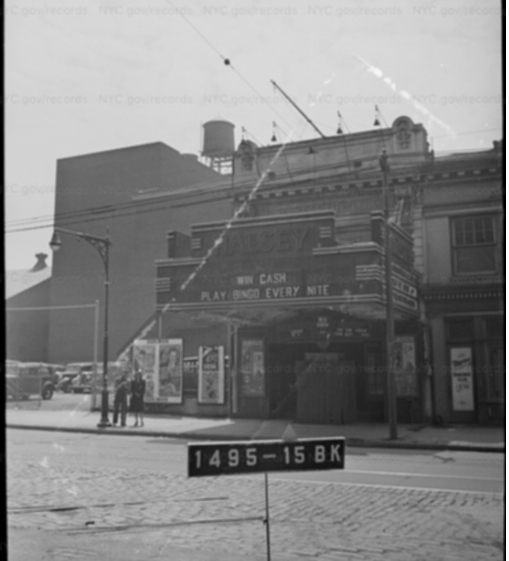Halsey Theatre 1940s tax photo