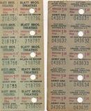"""[""""Tickets""""]"""