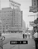 Brooklyn Paramount Theatre 1940s Tax Photo