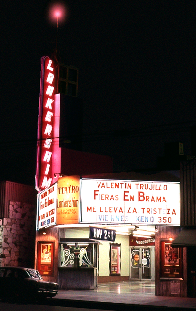 The Lankershim Theatre on January 26th 1983