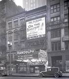 State Street entrance to the Randolph Theatre, 1926.