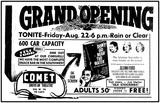 <p>Grand Opening Night August 22, 1958</p>