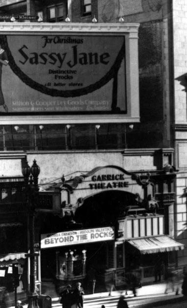 Garrick Theatre exterior