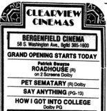 Bergenfield Cinema 5