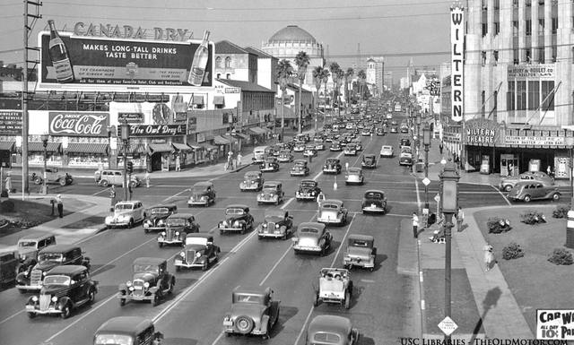 1939 photo credit USC Libraries, via The Old Motor.