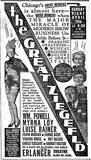 "April 10, 1936 print ad for ""The Great Ziegfeld""."