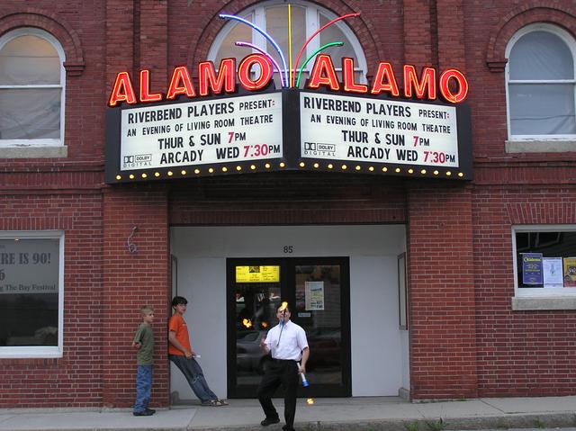 Alamo Theatre Marquee