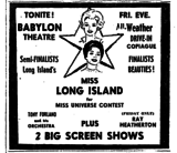 MISS LONG ISLAND CONTEST