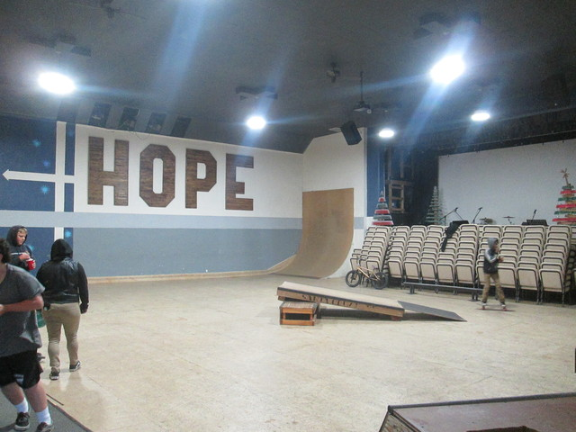 No More Osocales Theatre But Skate Church Now