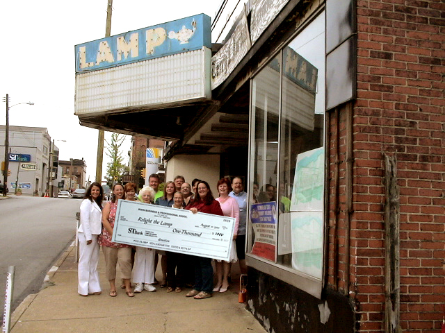$1,000 donation to Lamp Theatre