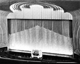 <p>A photograph of the curtains from 1937</p>