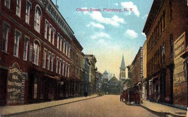 Circa 1910 postcard via Peter Johnpeer.
