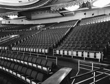Loew's Capitol Theatre balcony drapes