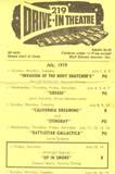July 1979 flyer courtesy Carol Lynne Corbin.
