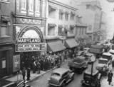 1939 photo via Interior postcard via Bonnie Gero Airesman.