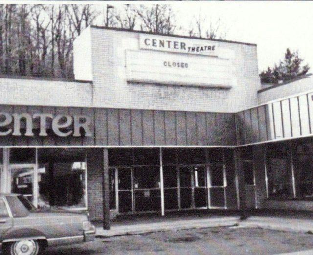 The Center Theatre closed, image via Bonnie Gero Airesman.