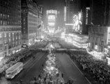 Times Square, December 31, 1938.  NY Daily News photo.