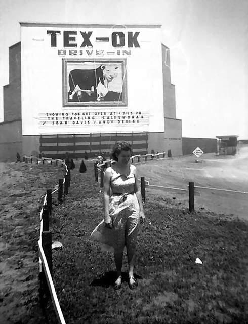 TEX-OK Drive-In E. 3rd Street and I-44 Junction, Burkburnett, TX 76354