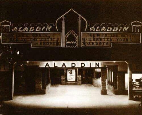 ALADDIN Theatre; Indio, California.