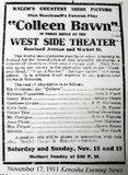 WEST SIDE Theatre; Kenosha, Wisconsin.