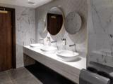Odeon Leicester Square - 2018 Refurbishment - Circle Level - Male Toilets