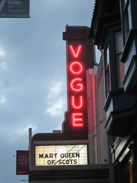 Vogue Theatre SF CA